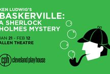 Ken Ludwig's Baskerville: A Sherlock Holmes Mystery / The hunting and haunting of the heir to the Baskerville fortune proves the most puzzling — and dangerous! — case in the illustrious careers of Sherlock Holmes and his trusty sidekick, Dr. Watson. Cleveland favorite Ken Ludwig is back with his madcap adaptation of Sir Arthur Conan Doyle's classic mystery, transforming The Hound of the Baskervilles into an all-out comedic theatrical adventure.Five actors play nearly 40 roles in this kooky and spooky caper. Jan 21 - Feb 12, 2017