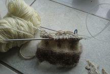creation knitting mittens