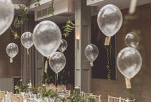 Balloons at the reception