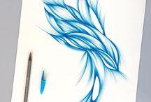 ball pen stripes