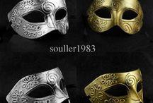 mardi gras masks / by Nora Machado