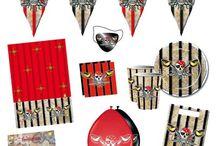 Piraten Feestje / Doe hier ideeën op voor een compleet piraten thema feest. Van versiering tot verkleedkleding en meer.