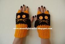 guanti gatti