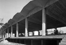 DEPOSITO SAN PELLEGRINO / Milano – 1955 Architettura: Aldo Favini Strutture: Aldo Favini