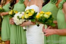 Green & Yellow wedding ideas
