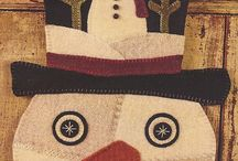 wool applique / by Connie Smith