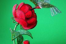 Flor mostacillas