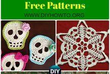 Skull crochet ideas