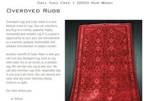 Overdyed Rugs / Overdyed rugs & color wash is a new fashion trend in rugs. Transform any Rug to a trendy, updated, rug https://rugwash.com/overdyed-rugs/