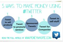 Make money from Social media / Find out how to make money from different types of social media including Facebook, Twitter and YouTube. www.Moneymagpie.com