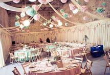 deco ideeën huwelijksfeesten