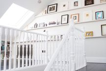 Loft conversion in Clapham / A pleasant loft conversion with extra functional space. White painted VELUX roof windows surely add light to the room.