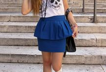 Converse and skirt