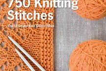 Knitting books and patterns