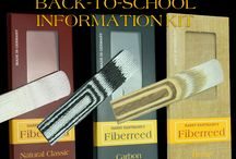 Back to School Information Kit / Fiberreed information Kit:  - Nature's Perfection is Fiberreed's Structural Principal  - World's Best Reeds: Carbon, Natural, and NEW Hemp Reed  - Better than cane and best of brand.  - Great for educators  - Fun for students  - World Renowned Endorsers  - TANTRA professional mouthpiece  - Retail pricing  - Order information  - Dealer Starter Kit portal