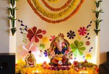 Ganpati decor & Diwali ideas