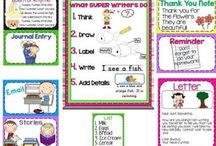 1st Grade Language Arts and Writing / by Meghan Shaddix