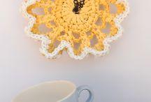 Crochet Clocks / A selection of Crochet Clocks.  Visit my website for my own originally designed FREE crochet patterns www.patternsforcrochet.co.uk  / by Patternsforcrochet (a free pattern website)