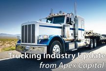 Trucking Industry Update / Apex Capital Blog post that updates the trucking industry on current events.
