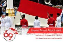 HUT Kemerdekaan RI ke-69 / Memperingati hari kemedekaan Indonesia ke-69. Berjayalah Indonesiaku