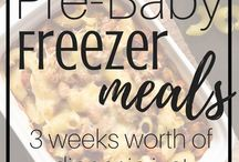 Freezer Meals (new babe)