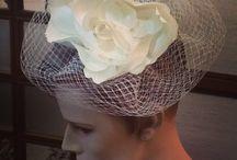 Hat / cappelli e acconciature realizzati nel laboratorio di Bignardi e Bignardi Boutique della Sposa. 100%Made in Italy