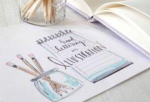 Handschrift / Illustration