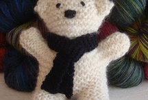 easy knit bear