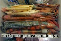 Freezer Crock Pot Meals