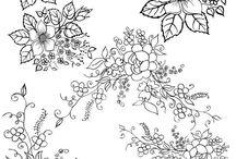цветы для распечатки