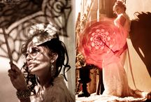 Wedding Fashion / Creative explorations of photo compositions: light bursts, lines, shadows, motion blur, reflections, negative space, and symmetry.