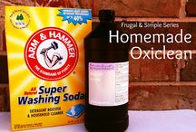 Homemade Personal Care, Cleaners and Tips