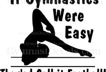 Emma and her love for gymnastics!  / by Kimberly GFJ Clothing Co