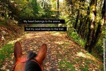 In riding a horse, we borrow freedom <3 / by Lizzy Grace