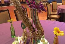 Mardi Gras Wedding and Event Designs / New Orleans is known for their grand Mardi Gras celebration. Carnival themed decor, cakes, and beads sprinkling on your wedding or event ideas.
