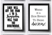 Printables wall posters