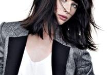Coiffures tendance en France / Coupes de cheveux, colorations, soins : http://www.journaldesfemmes.com/beaute/coiffure/