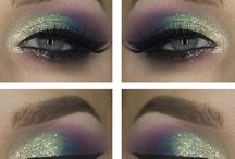 unicorn rainbow makeup