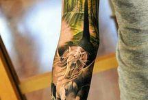 Tatuagem do braço