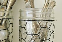 Jar Accessories / All the cool tools and crafts that can improve usability of the basic mason jar.