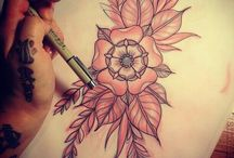 Floral Tattoos / by Frieda Masters