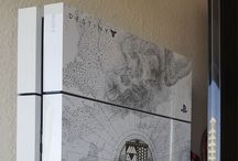 Game console storage/mounting