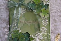 St Patrick's/green / by Memory Box