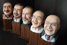 Figurines / Caricature miniature sculptures