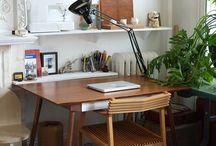 Casa - quarto e escritório