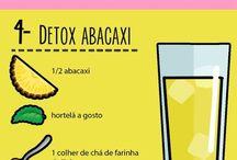 receitas de suco detox