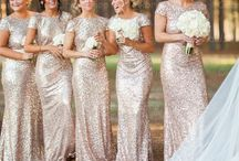 Bridesmaid and flower maid dresses