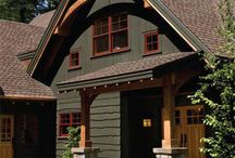 Exterior cabin style