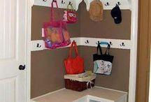 entryway storage/ closet