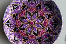 ceramic mandala